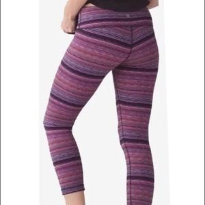 LULULEMON  WUNDER UNDER III CROP